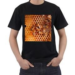 Honey Bees Men s T Shirt (black)