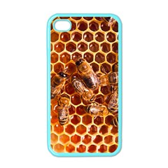 Honey Bees Apple Iphone 4 Case (color)