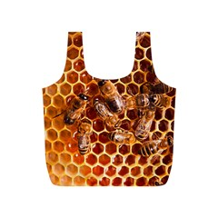 Honey Bees Full Print Recycle Bags (s)