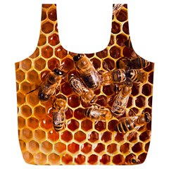 Honey Bees Full Print Recycle Bags (l)