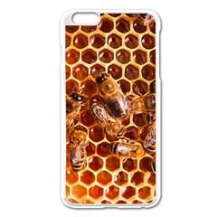 Honey Bees Apple Iphone 6 Plus/6s Plus Enamel White Case