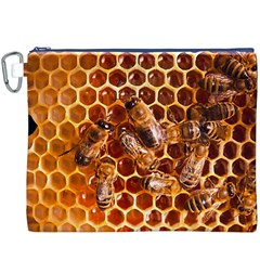 Honey Bees Canvas Cosmetic Bag (xxxl)