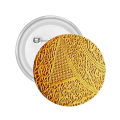 Gold Pattern 2 25  Buttons
