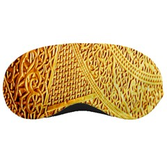 Gold Pattern Sleeping Masks