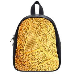 Gold Pattern School Bags (small)