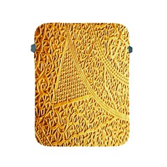 Gold Pattern Apple Ipad 2/3/4 Protective Soft Cases