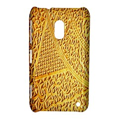 Gold Pattern Nokia Lumia 620