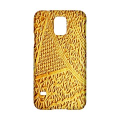 Gold Pattern Samsung Galaxy S5 Hardshell Case