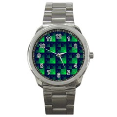 Fractal Sport Metal Watch