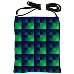 Fractal Shoulder Sling Bags