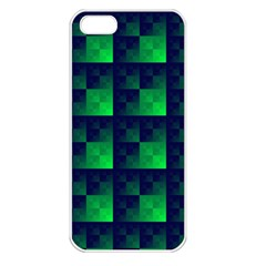 Fractal Apple Iphone 5 Seamless Case (white)