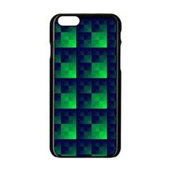 Fractal Apple Iphone 6/6s Black Enamel Case