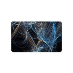 Fractal Tangled Minds Magnet (name Card)