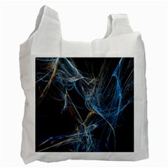 Fractal Tangled Minds Recycle Bag (one Side)
