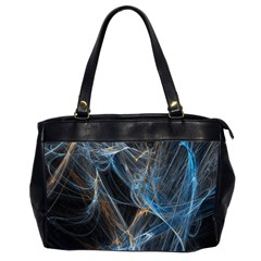 Fractal Tangled Minds Office Handbags (2 Sides)