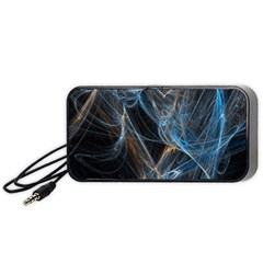 Fractal Tangled Minds Portable Speaker (black)