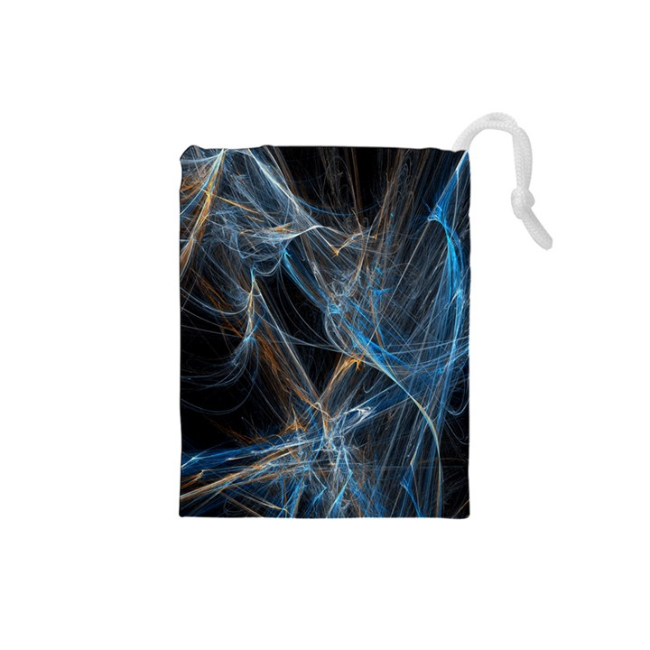 Fractal Tangled Minds Drawstring Pouches (Small)