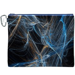 Fractal Tangled Minds Canvas Cosmetic Bag (xxxl)