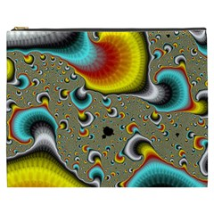 Fractals Random Bluray Cosmetic Bag (xxxl)