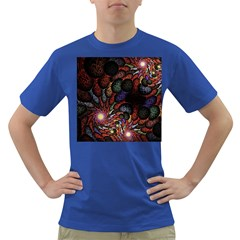 Fractal Swirls Dark T Shirt