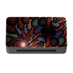 Fractal Swirls Memory Card Reader With Cf