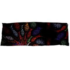 Fractal Swirls Body Pillow Case (dakimakura)