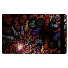 Fractal Swirls Apple Ipad 3/4 Flip Case