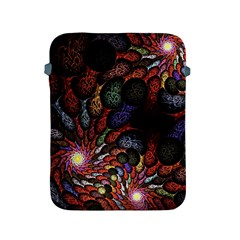 Fractal Swirls Apple Ipad 2/3/4 Protective Soft Cases