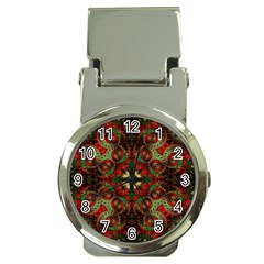 Fractal Kaleidoscope Money Clip Watches