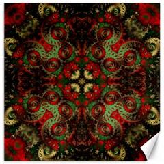 Fractal Kaleidoscope Canvas 20  X 20