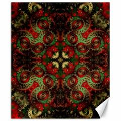 Fractal Kaleidoscope Canvas 20  X 24
