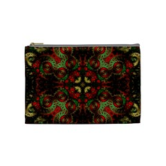 Fractal Kaleidoscope Cosmetic Bag (medium)