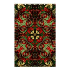 Fractal Kaleidoscope Shower Curtain 48  X 72  (small)