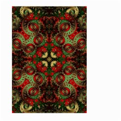 Fractal Kaleidoscope Large Garden Flag (two Sides)