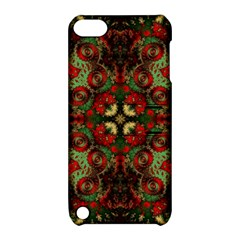 Fractal Kaleidoscope Apple Ipod Touch 5 Hardshell Case With Stand