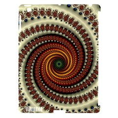 Fractal Pattern Apple Ipad 3/4 Hardshell Case (compatible With Smart Cover)
