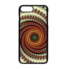 Fractal Pattern Apple Iphone 7 Plus Seamless Case (black)
