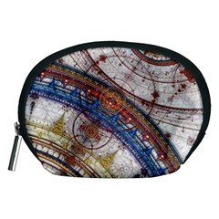Fractal Circles Accessory Pouches (medium)