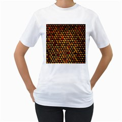 Fond 3d Women s T Shirt (white) (two Sided)