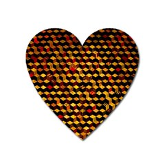 Fond 3d Heart Magnet
