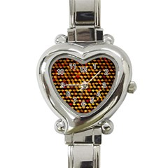 Fond 3d Heart Italian Charm Watch