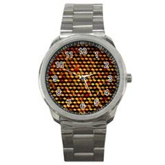 Fond 3d Sport Metal Watch