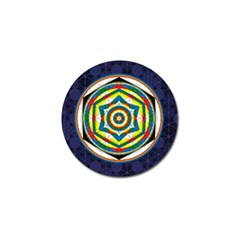 Flower Of Life Universal Mandala Golf Ball Marker (10 Pack)