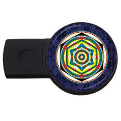 Flower Of Life Universal Mandala Usb Flash Drive Round (2 Gb)
