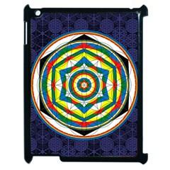 Flower Of Life Universal Mandala Apple Ipad 2 Case (black)