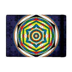 Flower Of Life Universal Mandala Apple Ipad Mini Flip Case