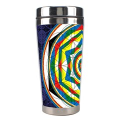 Flower Of Life Universal Mandala Stainless Steel Travel Tumblers