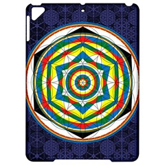 Flower Of Life Universal Mandala Apple Ipad Pro 9 7   Hardshell Case