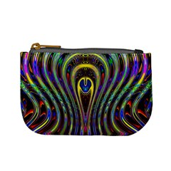Curves Color Abstract Mini Coin Purses