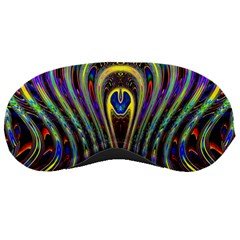 Curves Color Abstract Sleeping Masks